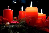 Advent, Advent, ein Lichtlein brennt. Erst eins, dann zwei, dann drei...