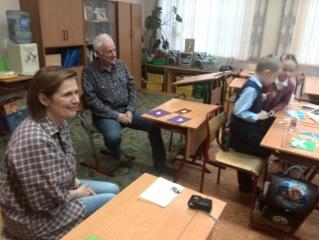 In einer Moskauer Schule