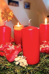 Advent, Advent, ein Lichtlein brennt. Erst eins, dann zwei...