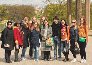 Besuch in Potsdam